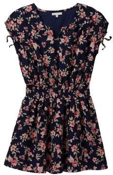 Ella Moss Floral Print Chiffon Dress (Big Girls)