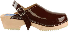 Cape Clogs Women's Brown Patent