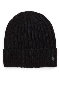 Polo Ralph Lauren Chunky Rib Knit Beanie - Black