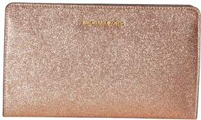 MICHAEL Michael Kors Large Crossbody Clutch Clutch Handbags - GOLD - STYLE
