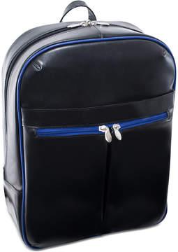 McKlein Avalon 15.4 Leather Slim Laptop Backpack