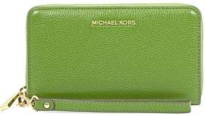 Michael Kors Mercer Large Phone Wristlet - True Green - ONE COLOR - STYLE