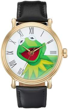 Disney Disney's The Muppets Kermit the Frog Men's Leather Watch