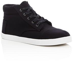 Toms Boys' Paseo High Top Sneakers - Little Kid, Big Kid