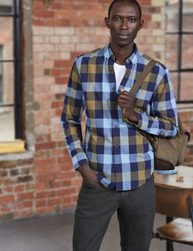 Boden Slim Fit Casual Pattern Shirt