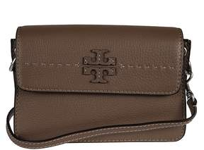 Tory Burch Mcgraw Shoulder Bag - SILVER MAPLE - STYLE