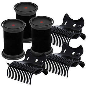 CHI Smart Refill Hot Rollers & Clips - Set of 3