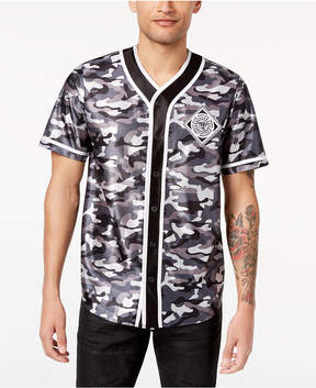 INC International Concepts I.n.c. Men's Printed Baseball Jersey, Created for Macy's