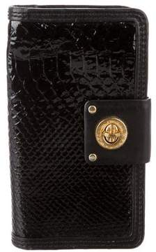 Marc by Marc Jacobs Embossed Leather Continental Wallet