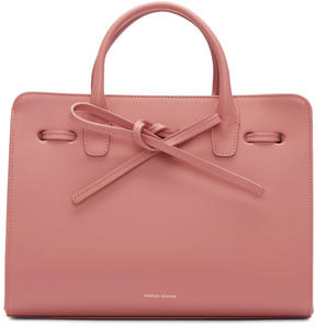 Mansur Gavriel Pink Leather Mini Sun Tote