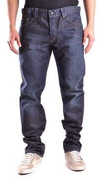 Dekker Men's Blue Cotton Jeans.