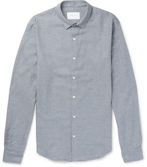 Sandro Slim-Fit Cotton-Flannel Shirt