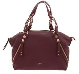 Liu Jo Women's Burgundy Polyester Handbag.