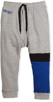 Kenzo Colorblock Sweatpants, Size 8-12