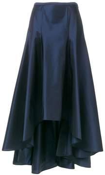 Blumarine high low A-line maxi skirt