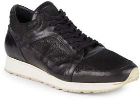 John Varvatos Men's 315 Trainer Leather Low-Top Sneakers