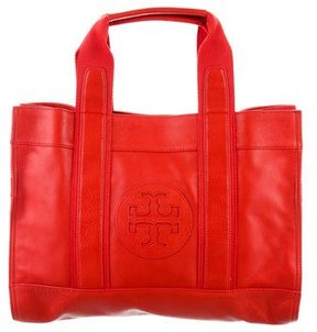 Tory Burch Leather Classic Tory Tote - RED - STYLE