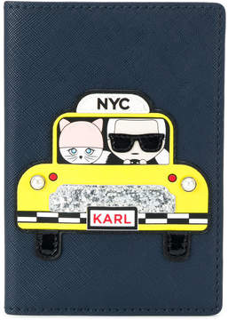 Karl Lagerfeld NYC passport hoder