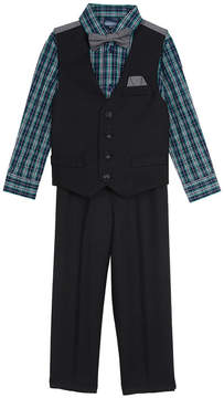 Nautica Boys' Check Vest Set