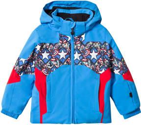 Spyder Captain America Marvel Ambush Kids Ski Jacket