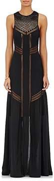 A.L.C. Women's Isbert Sleeveless Silk Maxi Dress