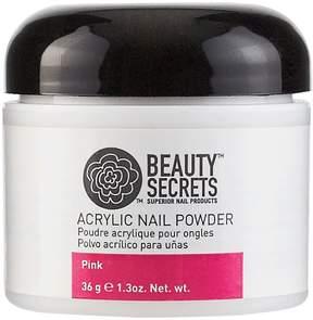 Beauty Secrets Pink Acrylic Nail Powder