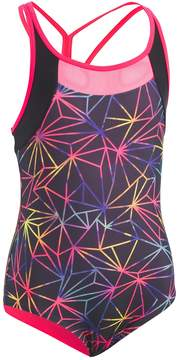 Under Armour Girls 7-16 Prism One-Piece Swimsuit