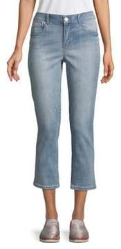 Democracy High-Rise Cropped Jeans