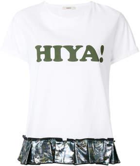 Odeeh slogan print T-shirt