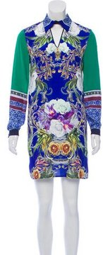 Clover Canyon Printed Long Sleeve Dress