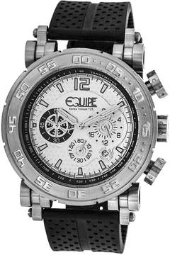 Equipe Tritium Stud Chronograph White Dial Men's Watch