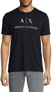 Armani Exchange Men's Crewneck Cotton Tee