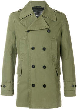 Ermanno Scervino short trench coat
