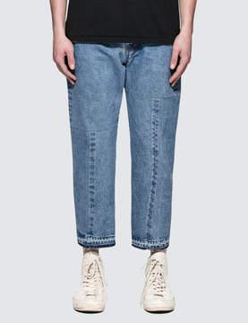 SASQUATCHfabrix. Twist Taperd Denim Pants