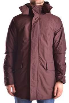 Peuterey Men's Burgundy Wool Coat.