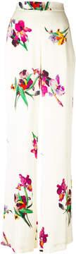 Etro floral wide leg pants
