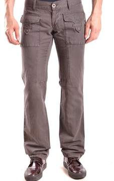 Richmond Men's Brown Cotton Pants.