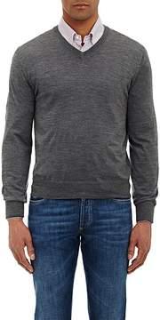 Brunello Cucinelli Men's Tipped V-neck Sweater