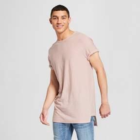 Jackson Men's Side Panel High Low Short Sleeve T-Shirt Pink