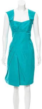 Lida Baday Portrait Knee-Length Dress