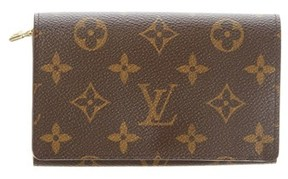 Louis Vuitton Monogram Canvas Tresor Wallet. - BROWN MULTI - STYLE