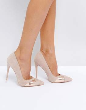Public Desire Arno Nude Heeled Shoes