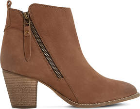 Dune Pontoon leather ankle boots