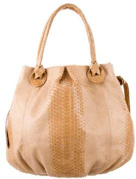 Nancy Gonzalez Python Gathered Tote