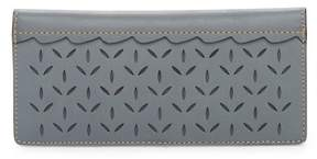 Frye Ilana Slim Perforated Leather Wallet