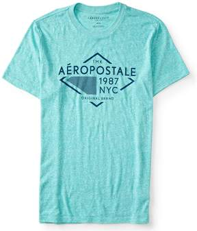 Aeropostale Diamond Logo Graphic Tee