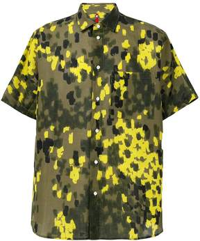 Oamc graphic print shirt