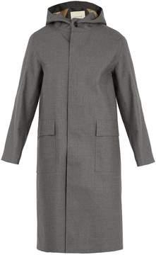 MACKINTOSH Bonded-wool hooded mac