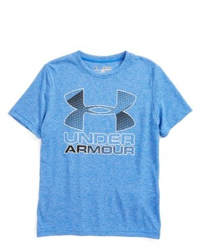 Under Armour Boy's Big Logo Hybrid 2.0 Heatgear T-Shirt