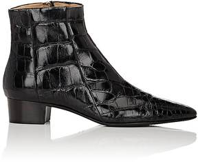The Row Women's Alligator Ambra Ankle Boots